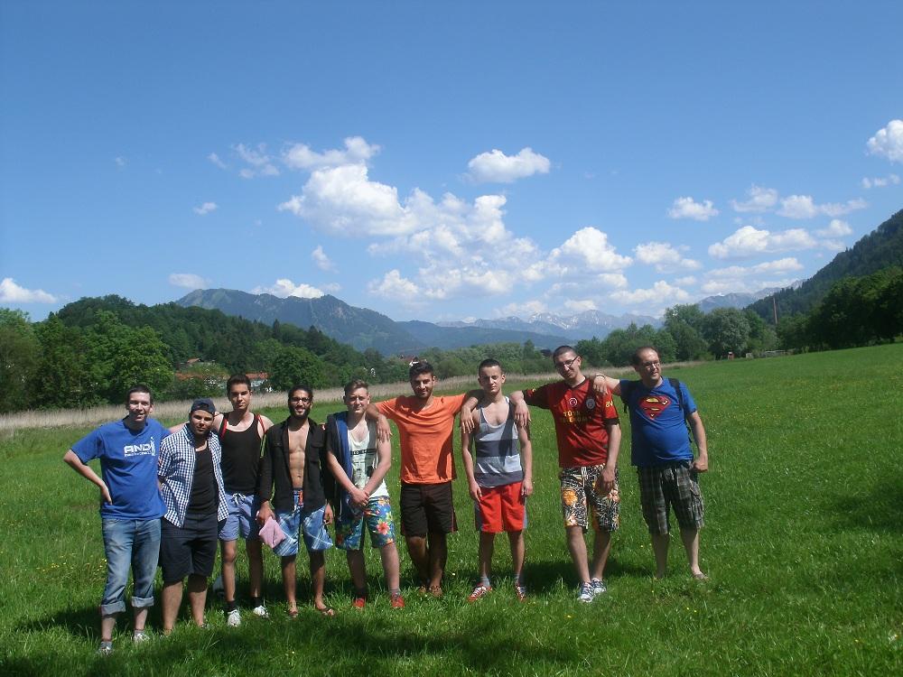 HEROES vor den Alpen