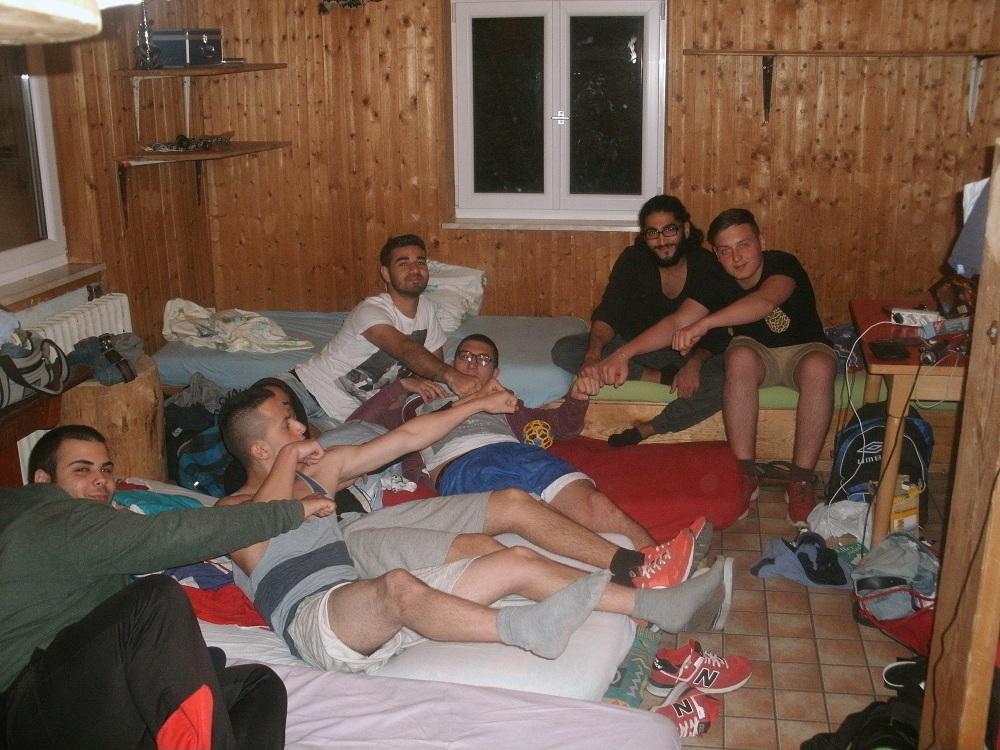Die gemeinsame Unterkunft