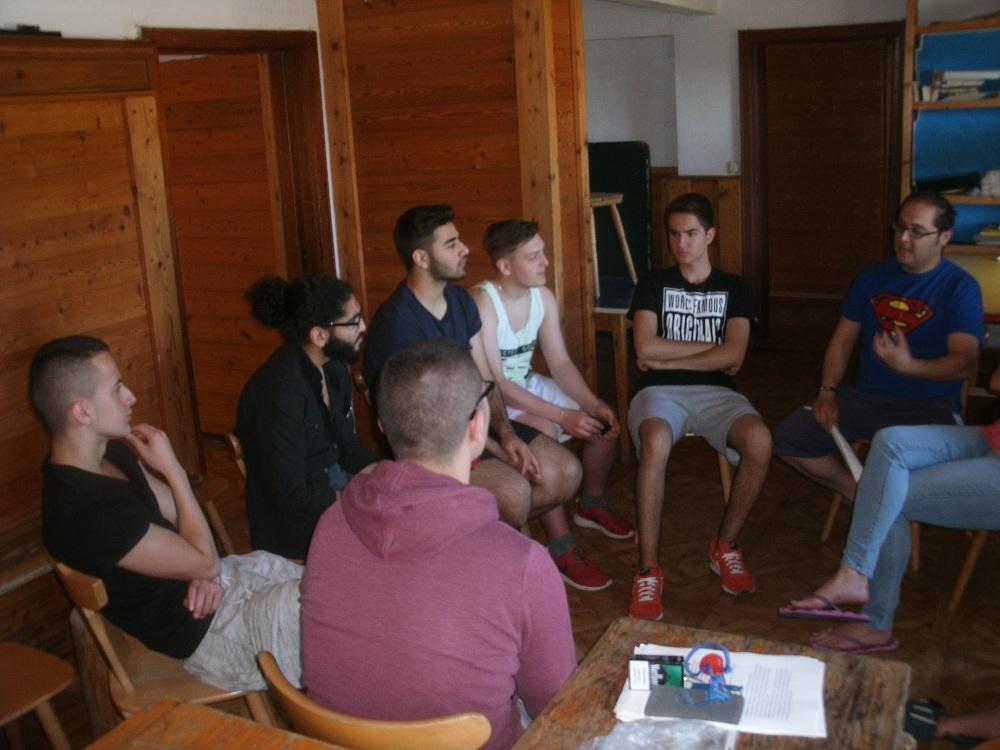 Diskussionsrunde